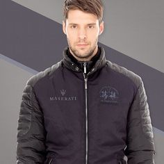 Add a touch of sophistication to your look with our Maserati jacket. Explore the collection created in collaboration with Maserati on lamartina.com