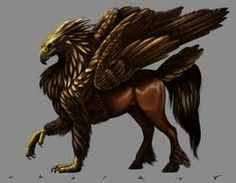 *~Join Today~* A Hippogriff is a legendary creature, supposedly the offspring of a griffin and a mare. The reason for its great rarity is that griffins regard horses as prey. A medieval expression: My Fantasy World, Fantasy Art, Legends And Myths, Legendary Creature, Vampire, Mythological Creatures, Magical Creatures, Gods And Goddesses, Fantastic Beasts