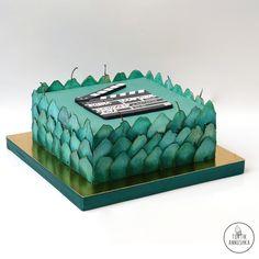 Витраж торт №971 на заказ в Москве
