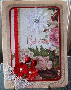 Christmas Believe Card