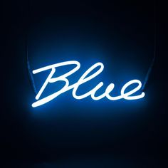Dresz neon luce LED blu