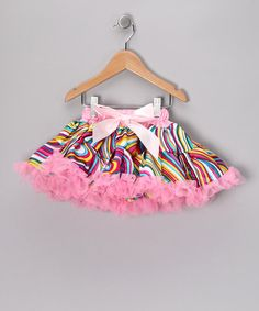 Take a look at this Pink Rainbow Pettiskirt - Toddler & Girls by So Girly & Twirly on #zulily today!