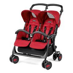 PEG-PEREGO Tweeling/duowagen Aria Twin Mod Red
