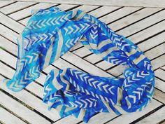 Inks & Threads Thunderbird Tracks scarf