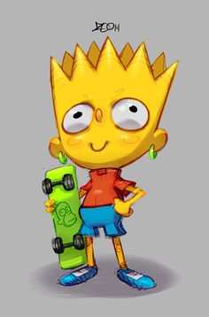 Bart Simpson by zeoarts on DeviantArt Art Lessons, Art Challenge, Character Design, Animation Art, Simpsons Art, Deviantart, Art, Bart Simpson, Art Reference
