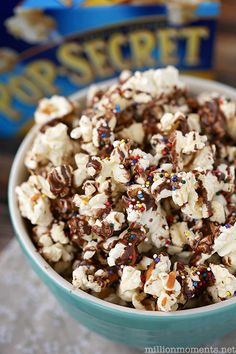 Looking for a great movie night snack or even a fun activity to do with the kids? Try this easy Rainbow Butterscotch Popcorn recipe with Pop Secret Popcorn for an extra special dessert. It is sure to brighten everyone's day!