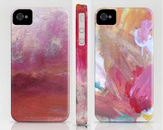 pretty painterly iphone cases for my art-loving girlfriends