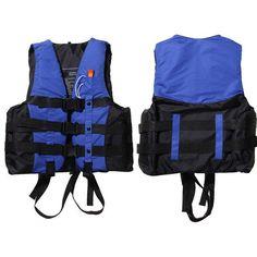 Polyester Adult Life Jacket Universal S to XXXL Sizes