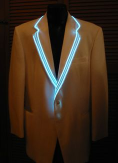 EL Wire Coats and Vests: Enlighted Illuminated Clothing