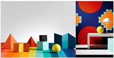 Dulux 2015 Colour Forecast - Modhaus Bold Playful Combinations