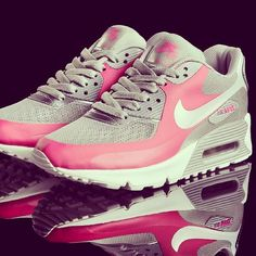 Always loved since HS-Nike Air Max. Pink and gray.
