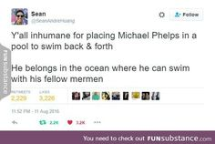 Free Phelps. He's been forced to compete in the Olympics for bread