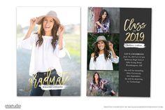 Graduation Card Template 2019 Senior ~ Card Templates ~ Creative Market
