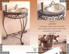 Bagno (Arredamento) prodotti hammam, Consolle bagno con b