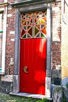 Nice door in Ghent, Belgium