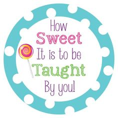 Crafty Texas Girls: Sweet Candy Themed Teacher Appreciation Week