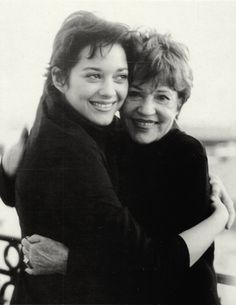 Marion Cotillard and Jeanne Moreau
