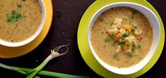 This easy vegan Cauliflower Carrot soup is bursting with flavor. Gluten free, soy free, nut free and oil free. It will fill you up and make you feel so good! Clean Recipes, Soup Recipes, Whole Food Recipes, Vegetarian Recipes, Cooking Recipes, Healthy Recipes, Healthy Foods, Healthy Chili, Healthy Soup