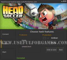 With Head Soccer hack tool You can add a lot of points and show off to your friends. New Version! you don't risk download from other websites! http://usefulforgames.com/head-soccer-hack-tool