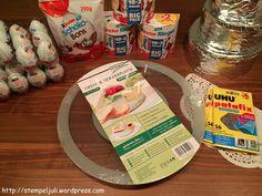 Torte aus Ü-Eiern Material