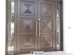 wp_118 Wood Doors, Entry Doors, Wooden Double Doors, Solid Wood, House, Wooden Doors, Entry Gates, Haus, Home