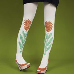 Heliconia Tights