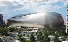 Современная реконструкция домашней арены мадридского клуба «Реал»