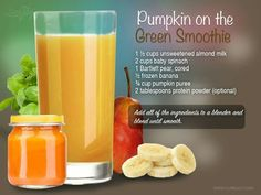 Pumpkin on the Green Smoothie