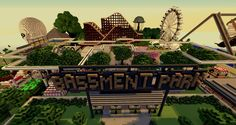 Minecraft Amusement Park