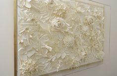 Artwork for Neo Bankside - white flowers in acrylic box