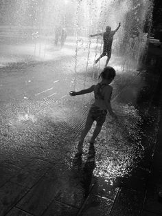 Brings back a wonderful memory of when my oldest daughter & I were bored on a rainy summers day so we went outside and played in the rain. I think it's one of her favorite memories too.