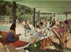 60's patio party