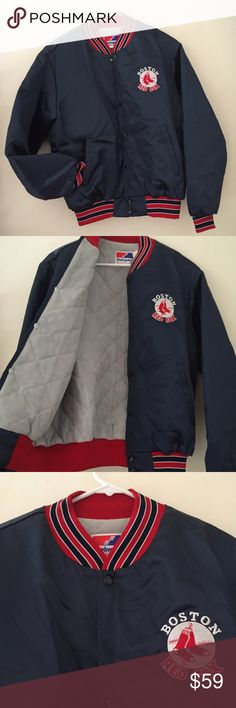 Vtg swingster Boston Red Sox MLB bomber Jacket Beautiful!!! Excellent condition. Satin bomber jacket USA made Vintage Jackets & Coats Bomber & Varsity