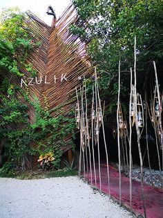 Tulum Mexico, Azulik Hotel Tulum, Sea Houses, Thai Decor, Treehouse Hotel, Hotels, House By The Sea, Villa Design, Tenerife