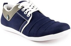FASHION TRENDS: Big Wing Trendy Blue Sneakers  (Blue)