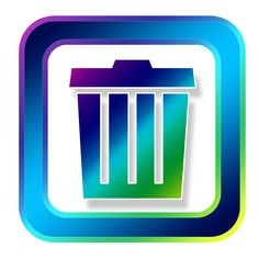 Icon Recycle Bin Waste transparent image