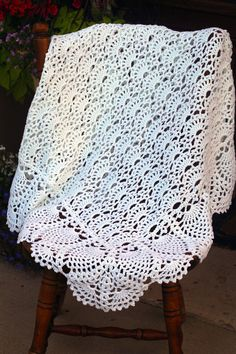 Exquisite Baby Blanket Afghan Free Shipping & Ready to Ship