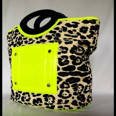 Tophatter is the world's most entertaining live auction site featuring unique items at exclusive prices. Versace Bag, Neon Green, Fashion Tips, Fashion Design, Fashion Trends, Authenticity, Vintage, Dust Bag, Things To Sell