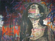Space Gallery, Black Box, Graffiti, Past, Painting, Past Tense, Painting Art, Paint