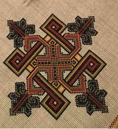 Funny Cross Stitch Patterns, Cross Stitch Borders, Cross Patterns, Modern Cross Stitch, Cross Stitch Designs, Border Embroidery Designs, Folk Embroidery, Cross Stitch Embroidery, Embroidery Patterns