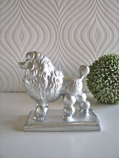 Silver poodle from Etsy (pretty sure my home will eventually be filled with poodles in one way or another)