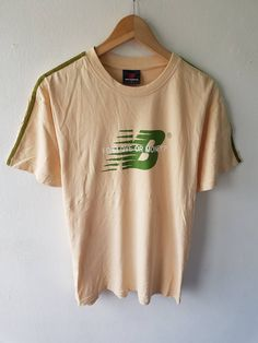 a2d16278d New Balance Vintage 90s New Balance Chest Graphic Logo Love Or Money T-Shirt  Size