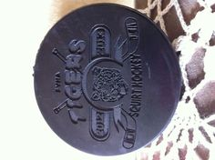 Hockey Puck engraved Award FYHA 2nd Place