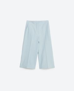 Image 8 of CULOTTES WITH SLITS from Zara