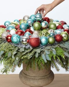 Holiday Ornament Urn
