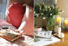 Simple and charming details. #decor #interior #design #flowes #pillow #casadevalentina