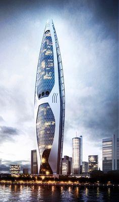 Tower am Main Skyscraper on Behance