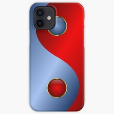 Shop for more designs and products mademesmile.redbubble.com #mademesmiledesign #mademesmile #yinyang #chinese #symbol #balance #metal #color #sign #blue #red #findyourthing #redbubble #redbubblephonecase #iponecase #phonecase #phonecasedesign #iphonesoftcase #snapcase #toughphonecase #toughcase #walletcase #walletcover #walletphonecase Cool Phone Cases, Iphone Case Covers, Iphone Skins, Yin Yang, Cool Gifts, Protective Cases, Online Marketing, Online Shopping, Phones