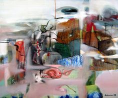 "Saatchi Online Artist: Alexey Adonin; Oil, 2008, Painting ""In The Mist"""