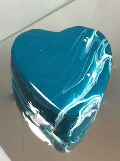 Mirror Glaze Torte Cake Spiegel Glasur